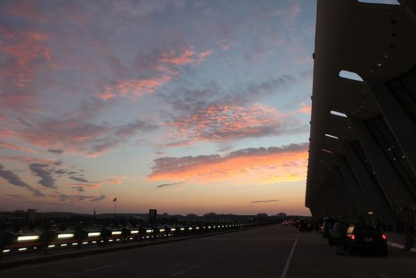 Sunrise @ Dulles Airport, Loudon County VA - Saturday September 25th, 2010
