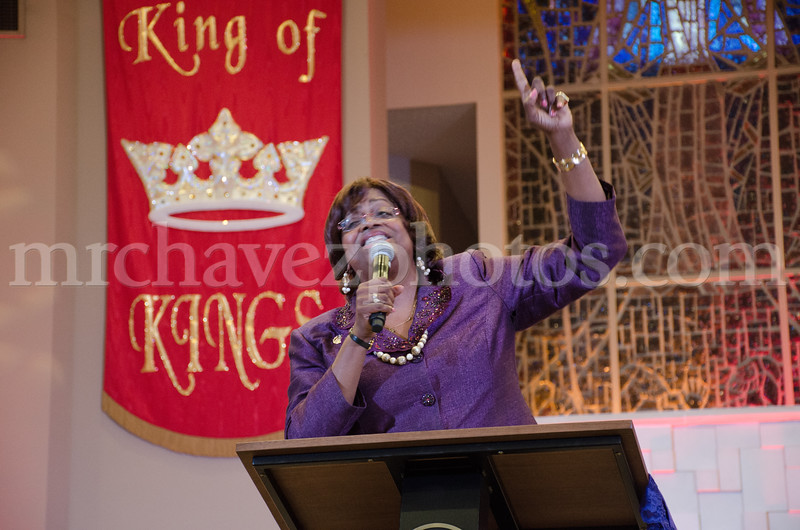 Dr. Suzan D. Johnson Cook preaches