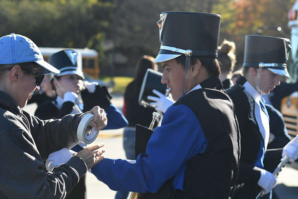 Marching Band at NSBA competition