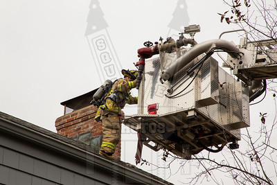 Glastonbury, Ct Chimney fire 11/17/19