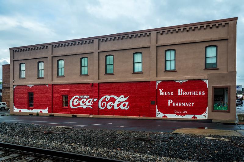 GA, Cartersville - Coca-Cola Sign