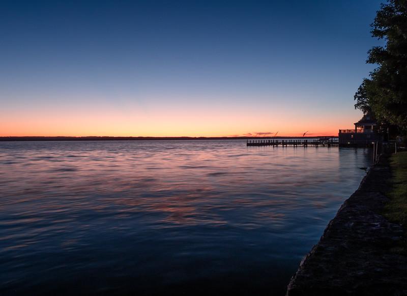 78 July 6 Cayuga Lake Aurora NY sunset blue b-1.jpg