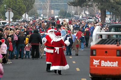 Sisters Christmas Parade & Santa 2007