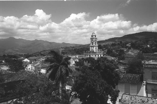 Aerial View of Trinidad - Trinidad, Santiago