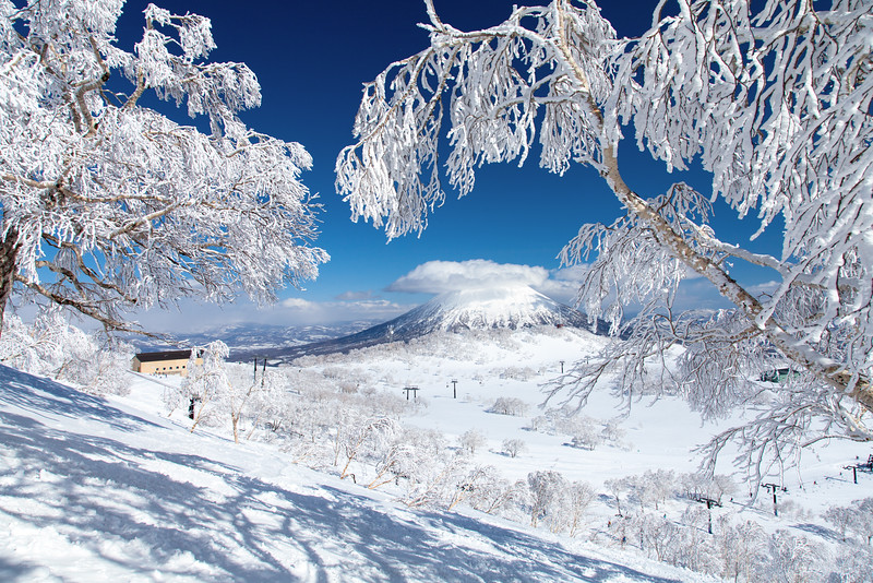 Mt. Yotei from Niseko Ski Resort