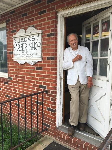 Jack Hanna / Jack's Barbershop