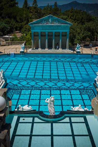 Neptune Pool, Hearst Castle