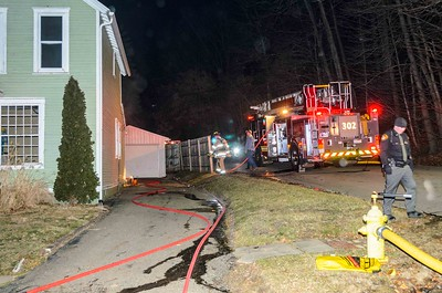 01-29-16 Coshocton FD House Fire