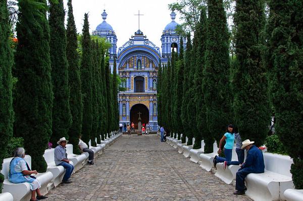 Ocotlan -Temple Of Santo Domingo in Ocotlan