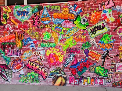 Bay School Mural 2020