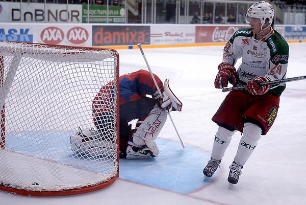 Frisk Asker Tigers -at- Lørenskog Ice Hockey (14.10.08)