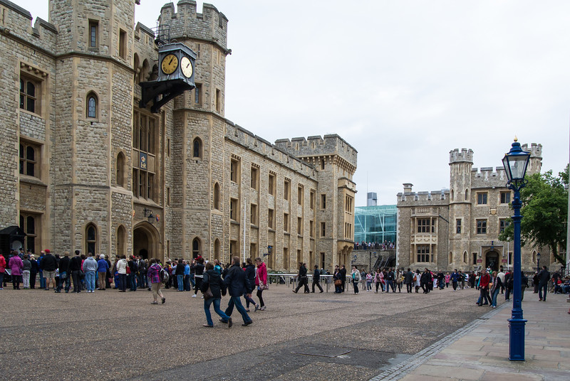 We viewed the Crown Jewels in this building.  They were huge and plentiful.