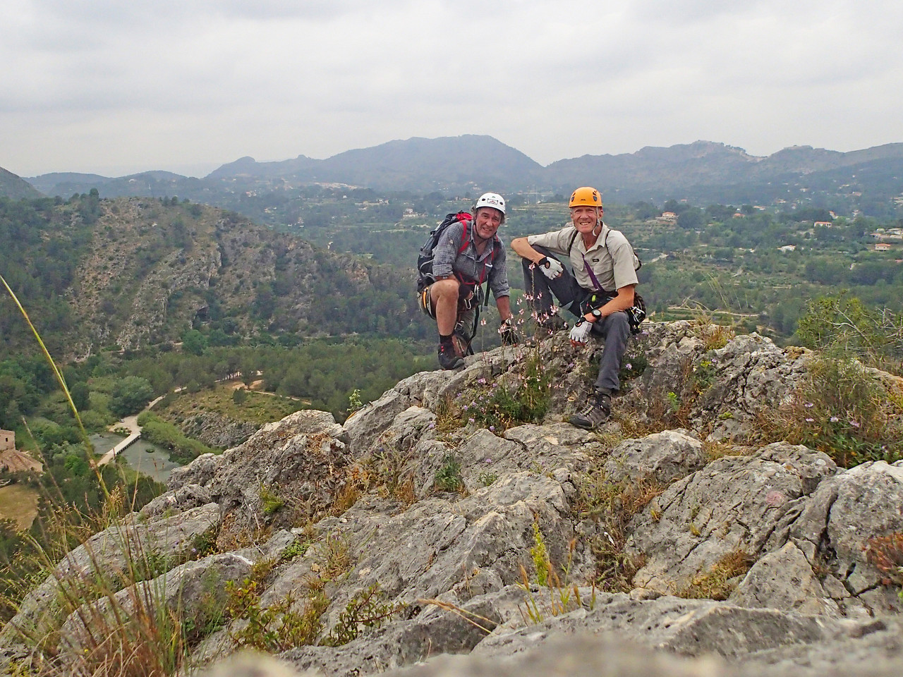 On Aventador Via Ferrata with Philippe