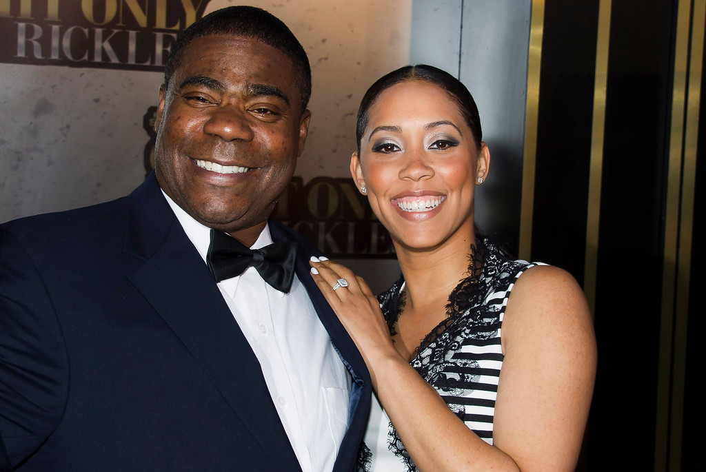 . Tracy Morgan and Megan Wollover attend One Night Only: An All-Star Tribute To Don Rickles, Tuesday, May 6, 2014, in New York. (Photo by Charles Sykes/Invision/AP)