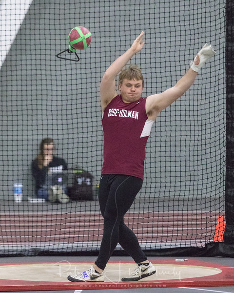 2018-01-19 Indoor Track at Rose-Hullman