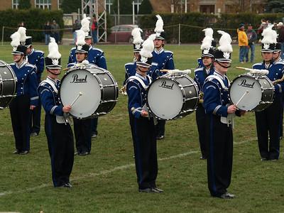 Band at Thanksgiving Game '08