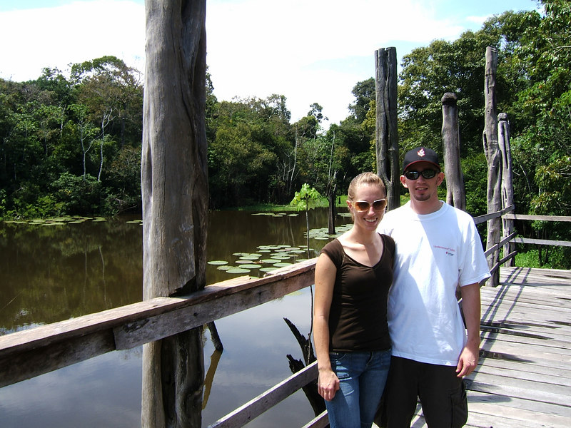 Day 2 - Manaus - Lily pads.