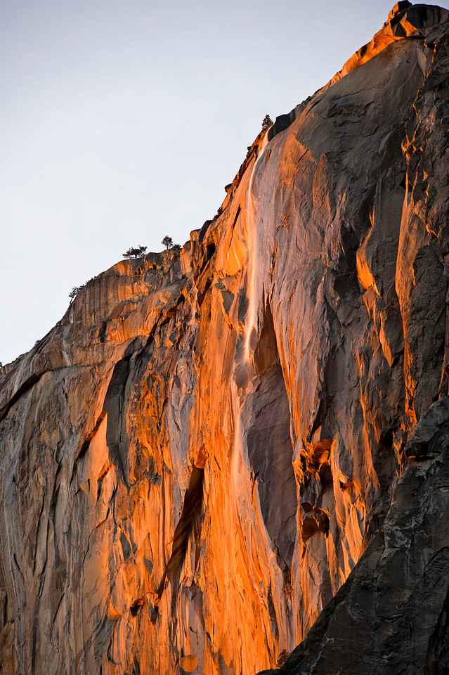 Yosemite Firefall, Horsetail Sunset