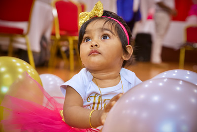 Aathini 1st Birthday