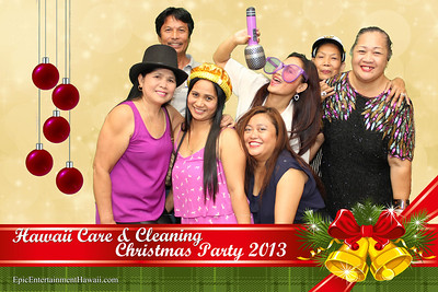 Hawaii Care & Cleaning Christmas Party 2013