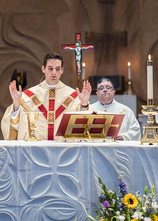 First Mass - Fr. Joseph MacNeill