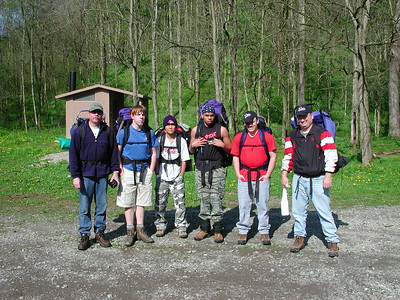 Burr Oak Backpack trip 2004