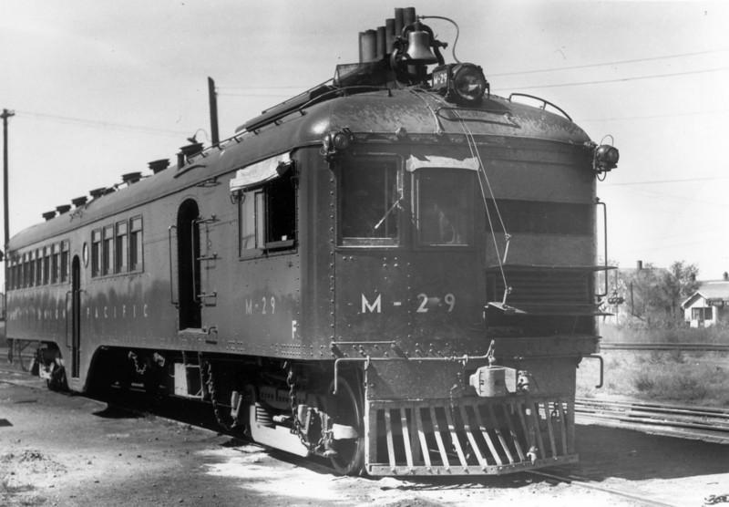 UP M-29. Kearney, Nebraska. September 18, 1949. (Bob Andrews Photo)