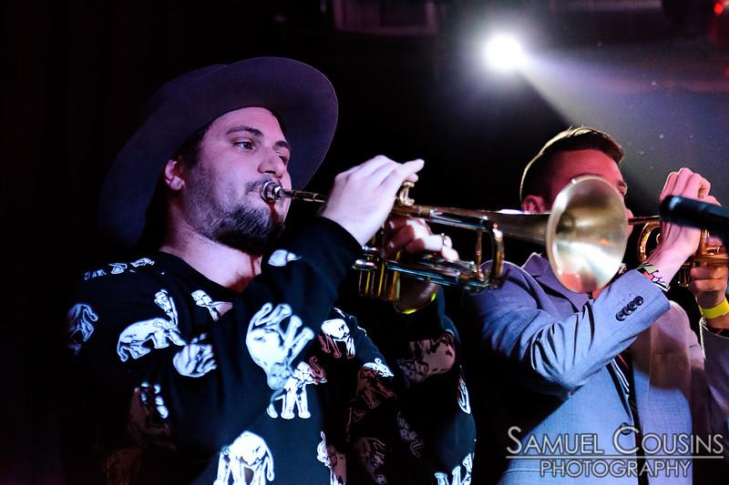 No BS! Brassband, at Empire