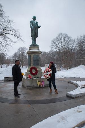 Frederick Douglas Wreath Laying 2/14/2020