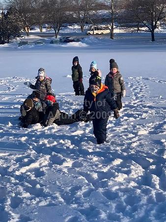 preschool snowtime