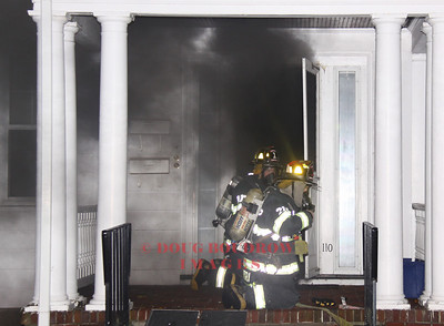 Winthrop, MA - Working Fire, 110 Circuit Road, 10-24-09