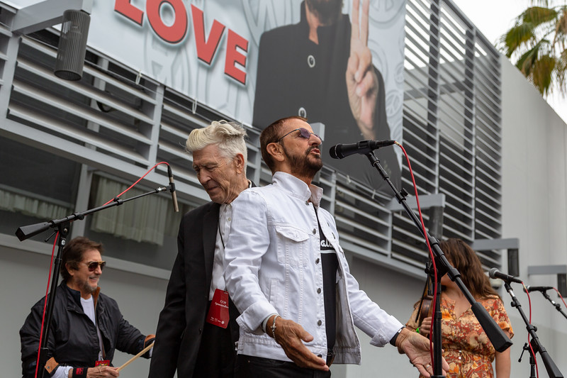 2019_07_07, Birthday, CA, Capitol Records, Los Angeles, Ringo, Ringo Starr, David Lynch