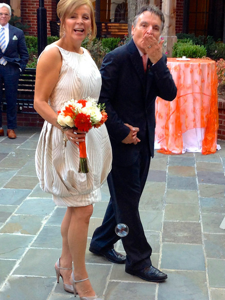 Dr. Vincent Voci and Sandra Valencia Wedding-behind the scenes look