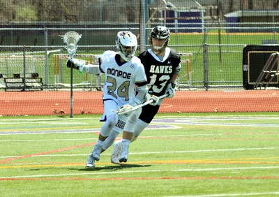 April 21, 2018 Boys LAX vs River Dell photos by T Perry