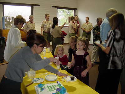 10/20/2002 - Rededication of the Barn