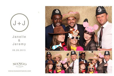 Janelle and Jeremy  Photo Booth