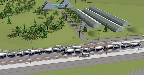 Southeast and West LRT Concept Plans