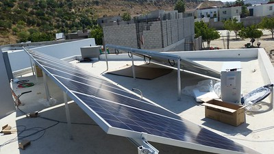 Another happy home solar/security client in TJ