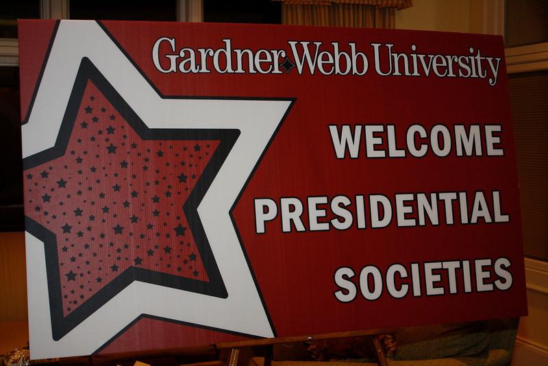 Welcome Presidential Societies