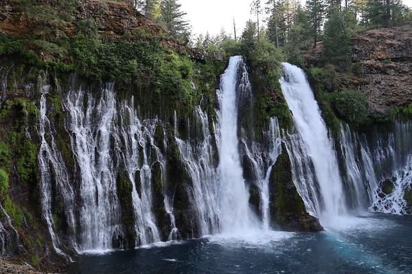 Burney and McCloud Falls