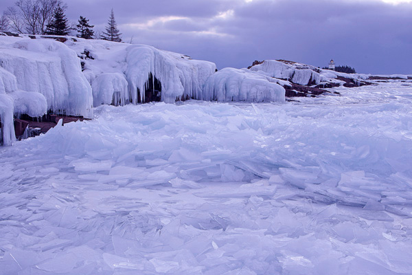 March 9, 2008 Lake Superior Ice Shards