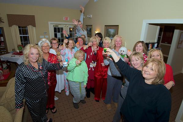 Friends Christmas PJ Party 12/14/13