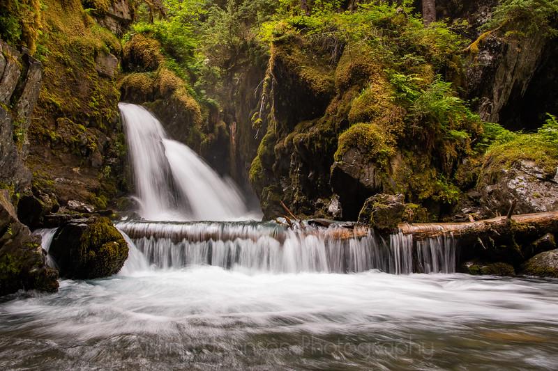 Virgin Creek Falls, Girdwood, Alaska