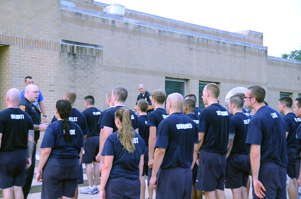 police academy recruits
