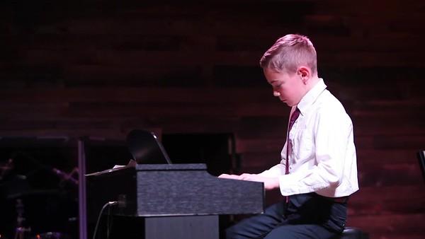 Matt Richter Piano & Guitar Recital Winter 2018