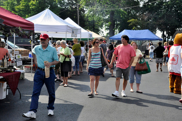 Collegeville Farmers Market Opening Day