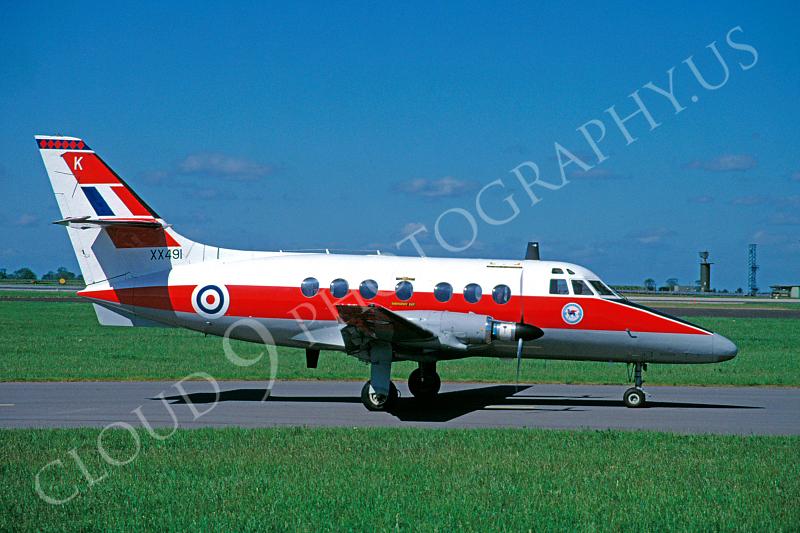 BAE Jetstream 00001 BAE Jetstream British RAF XX491 16 June 1997 by Wilfried Zetsche .JPG