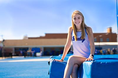 Girls Track & Field Portraits