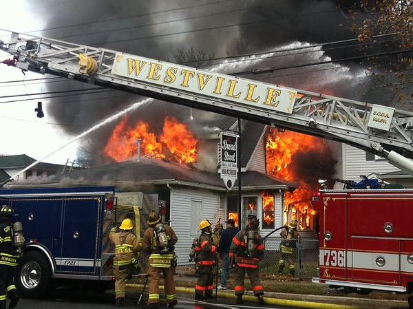 11-16-2013(Gloucester County)PAULSBORO 400 blk. W Broad St.-3rd Alarm Dwelling