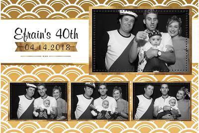 Efrain's 40th Birthday Party